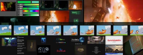 editing di vfx con animazioni